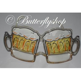 71e5907f1 Zábavné okuliare v tvare pivových pohárov