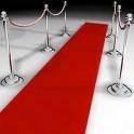 Katedrálový koberec - 12m / červený