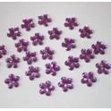 Dekoračné kvetinky - fialkové 10mm