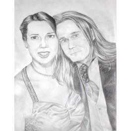 Kresba - Portrét