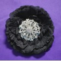 Vivien - kryštálová brošňa