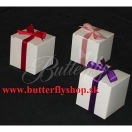 Biela krabička na darčeky pre hostí