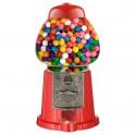 Červený dávkovač žuvačiek/cukríkov