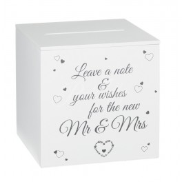 Gratulačná schránka Mr & Mrs