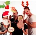 12-dielny Vianočný set na fotenie