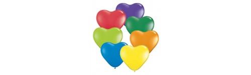 Balóny - srdcia