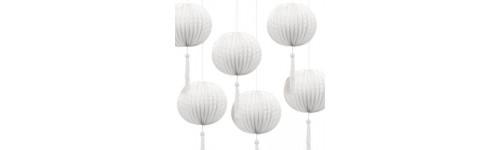 Lucerny, lampióny a lampáše